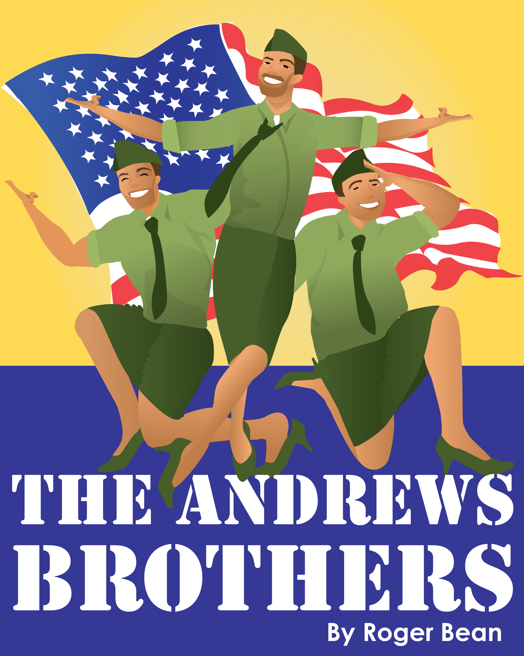Opening Night: The Andrews Brothers – A fun musical featuring music from the 1940's