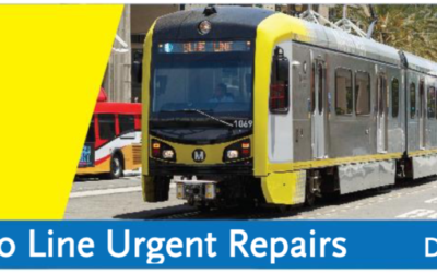 Blue Line and Expo Line Urgent Repairs
